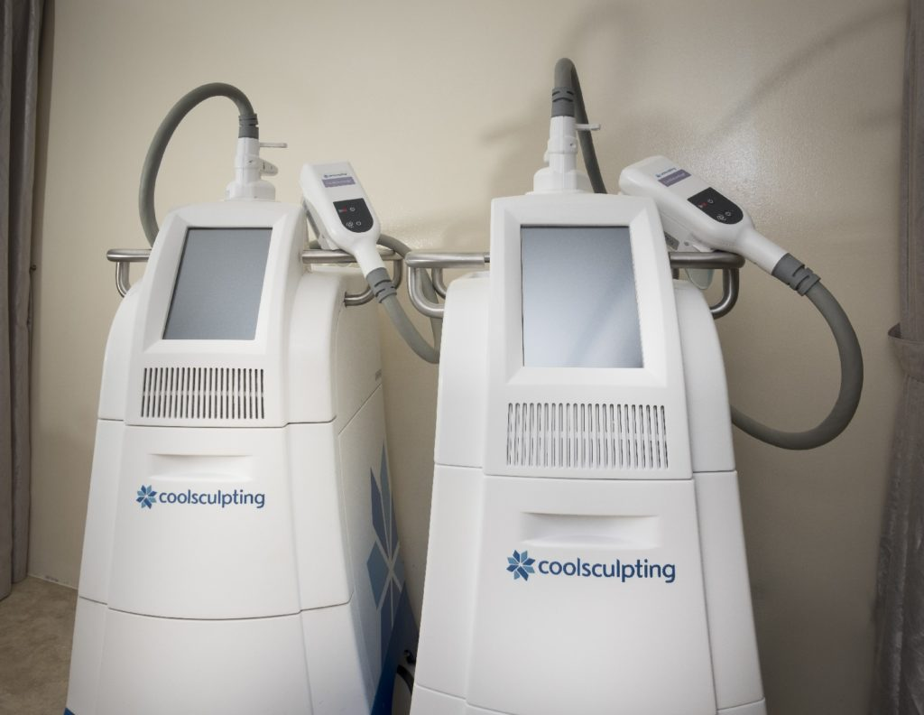 Cool Sculpting treatment machine