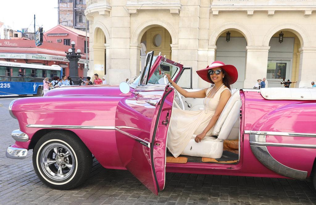 Dr Iroshni Chua in Cuba