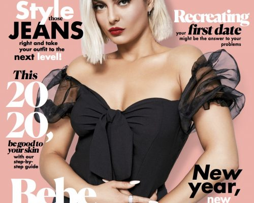 Cosmo January 2020 mag cover
